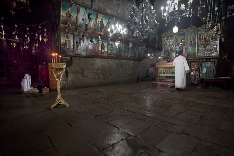 Jerusalem, Greek Orthodox Church (St Mary's Tomb), May 2012