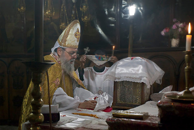 Jerusalem, Greek Orthodox Church (St Mary's Tomb), May 2012