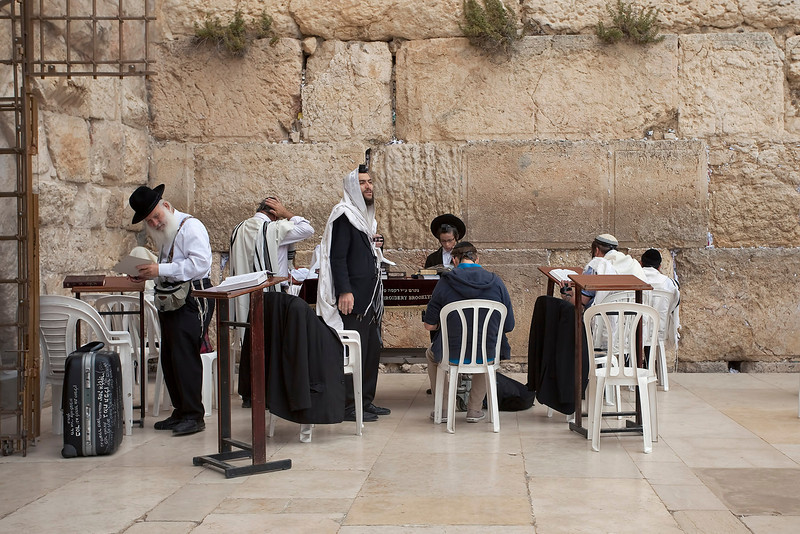 Jerusalem, Western Wall, May 2012