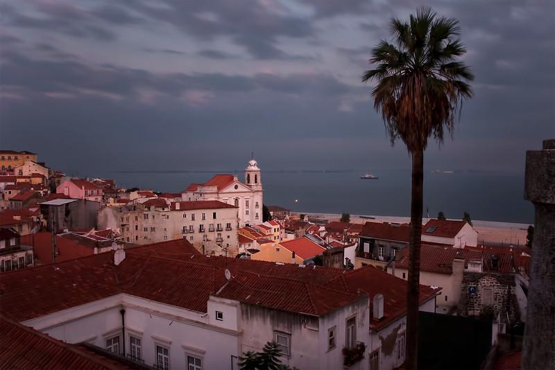 Lisbon, View from Largo das Portas do Sol, September 2011