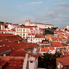 Lisbon, View from Largo das Portas do Sol, September 2011