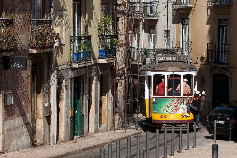 "Lisbon, famous ""Electrico"" No 28, September 2011"