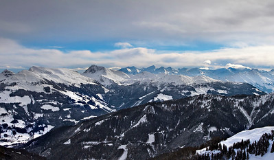 The Kitzbühel Alps, Austria, December 2010