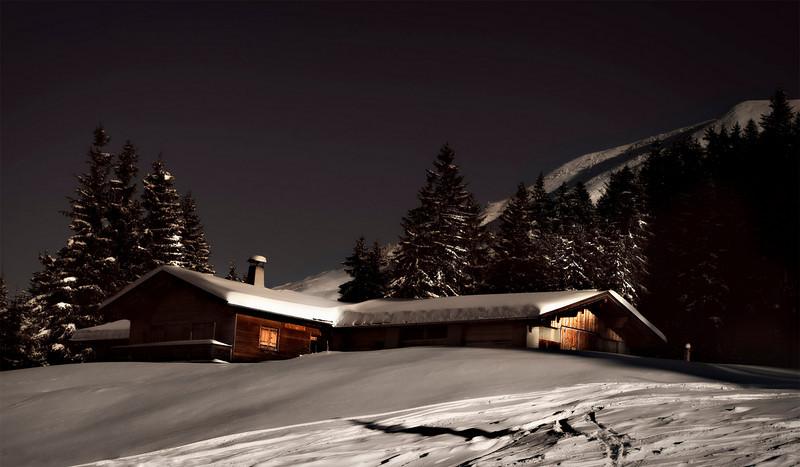 The Kitzbühel Alps, Austria, December 2010