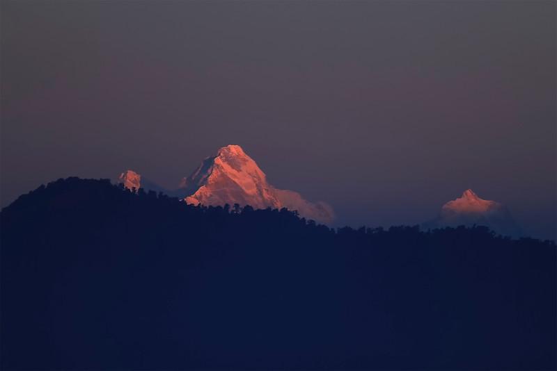 Manaslu (8156 m), November 2012