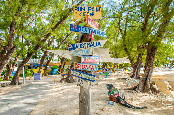 Rum Point signs 2