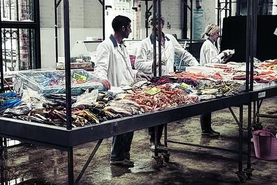 Belfast, St George's Market, July 2009