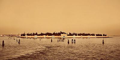 San Michele Cemetery Island, November 2007