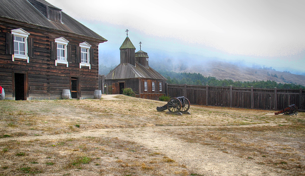Fort Ross, Northern California. July 2015.