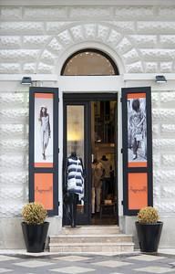 Stylish fashion house in Budapest