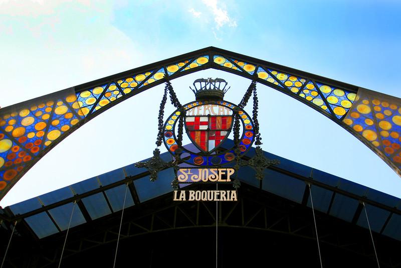 La Boqueria, Barcelona, Spain. August 2013