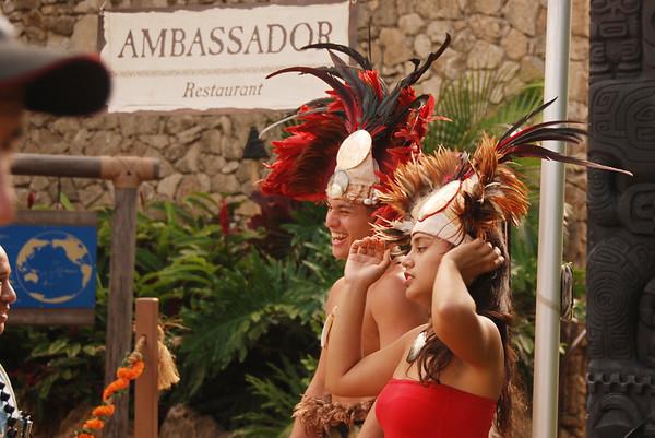 Polynesian Cultural Center - Dinner