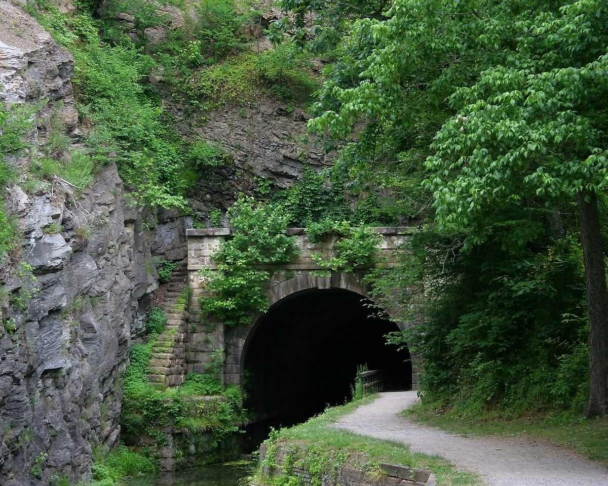 Paw Paw Tunnel on the C&O Canal