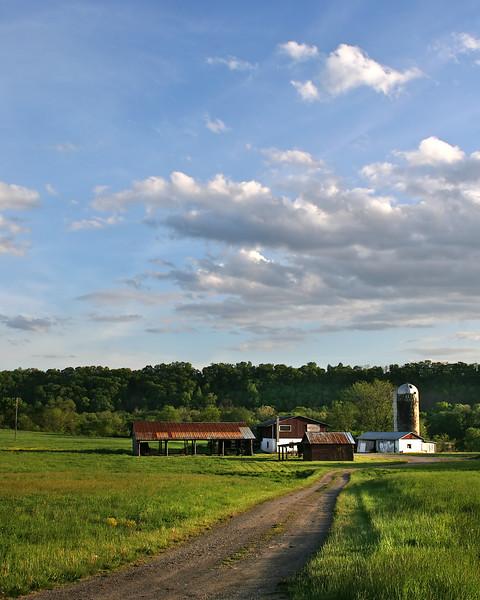 Farm near North Branch along the C&O Canal