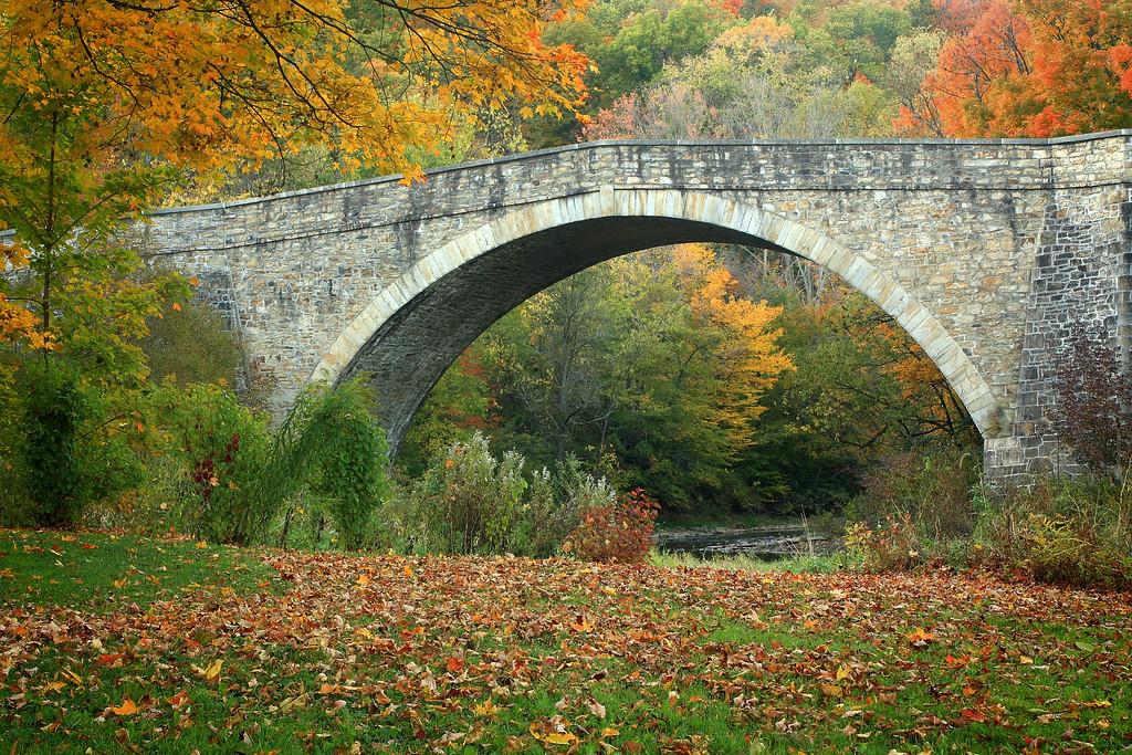 Casselman Bridge in Grantsville, Maryland