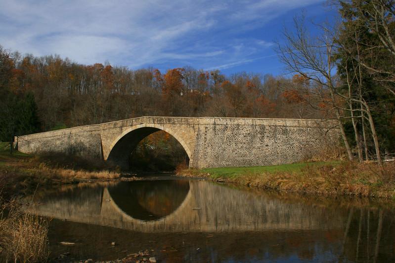 Casselman Bridge in November