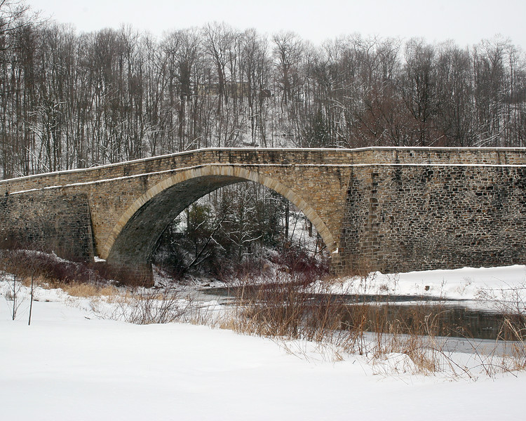 Winter time at Casselman Bridge