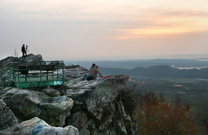 Sunrise at Dan's Rock