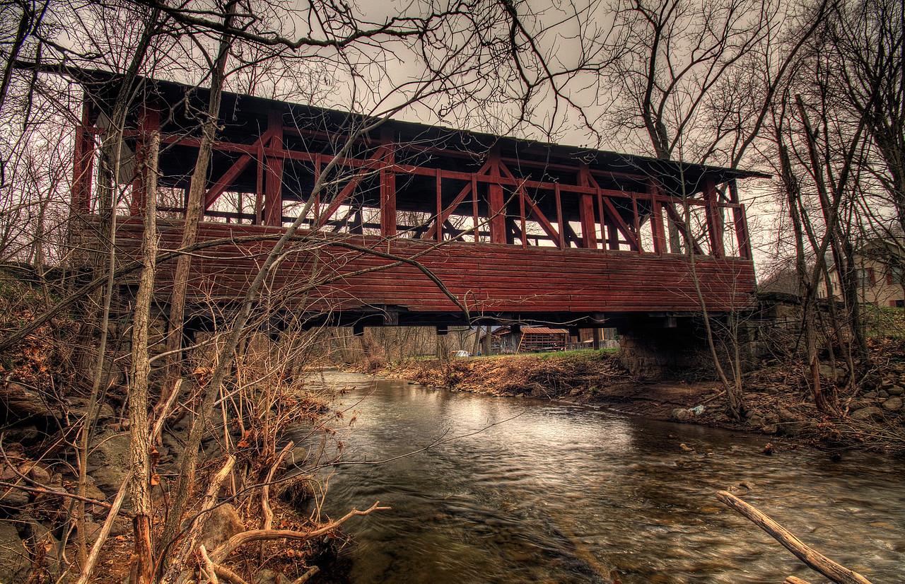 The Palo Alto Covered Bridge near Hyndman, Pennsylvania