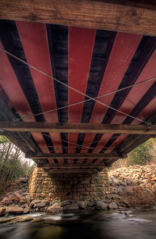 Pack Saddle Covered Bridge, near Fairhope Pennsylvania