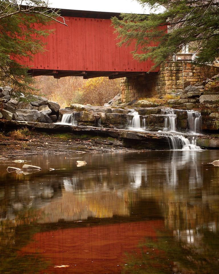 Pack Saddle Covered Bridge, outside of Fairhope Pennsylvania (Somerset County)