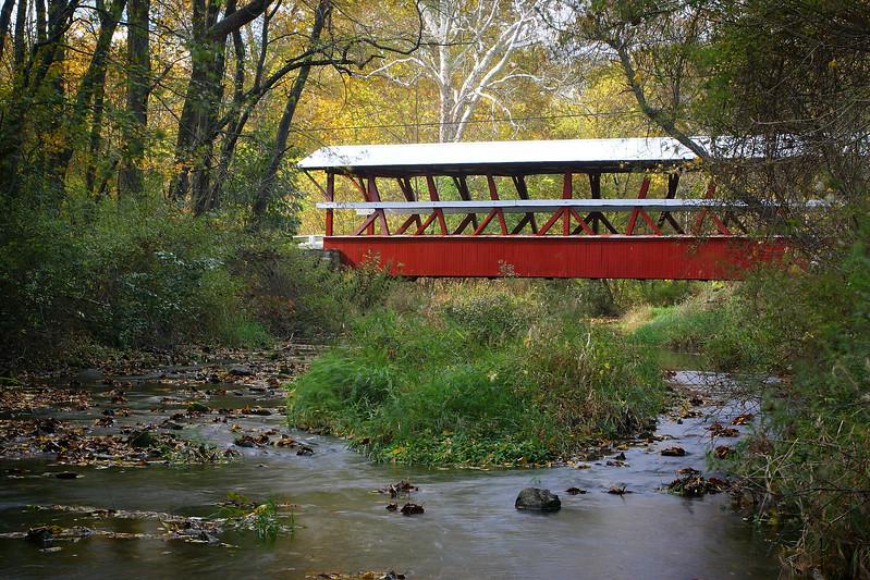 Colvin Covered Bridge outside of Schellsburg, Pa