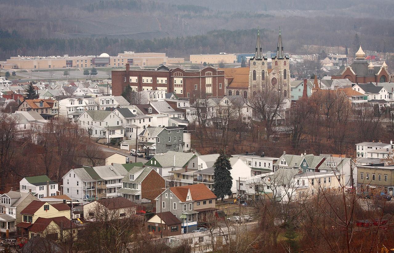 West side of Mount Carmel