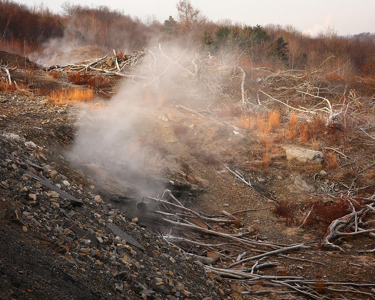 Centralia mine fire photos