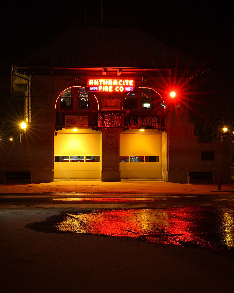 Anthracite Fire Company on 3rd & Market Street in Mt Carmel