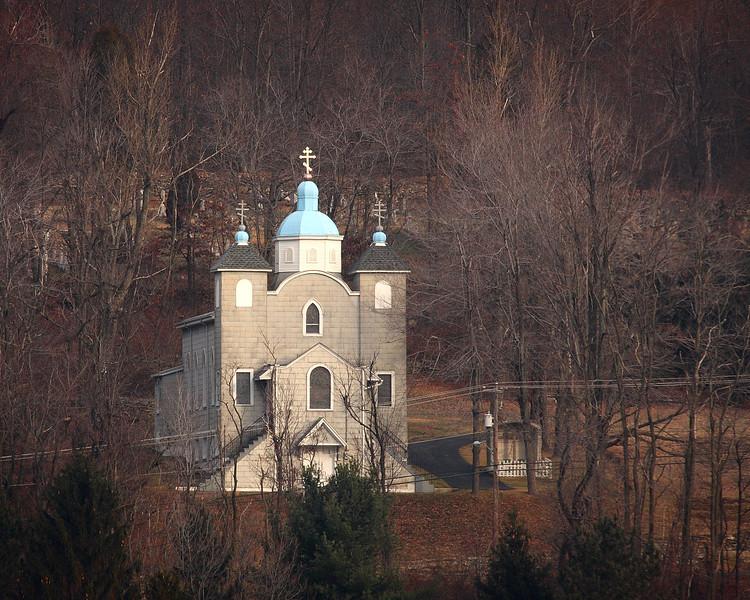 Church still standing in Centralia, Pa