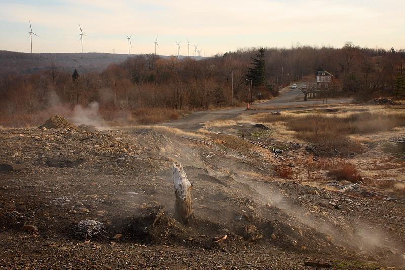 Centralia mine fire photos