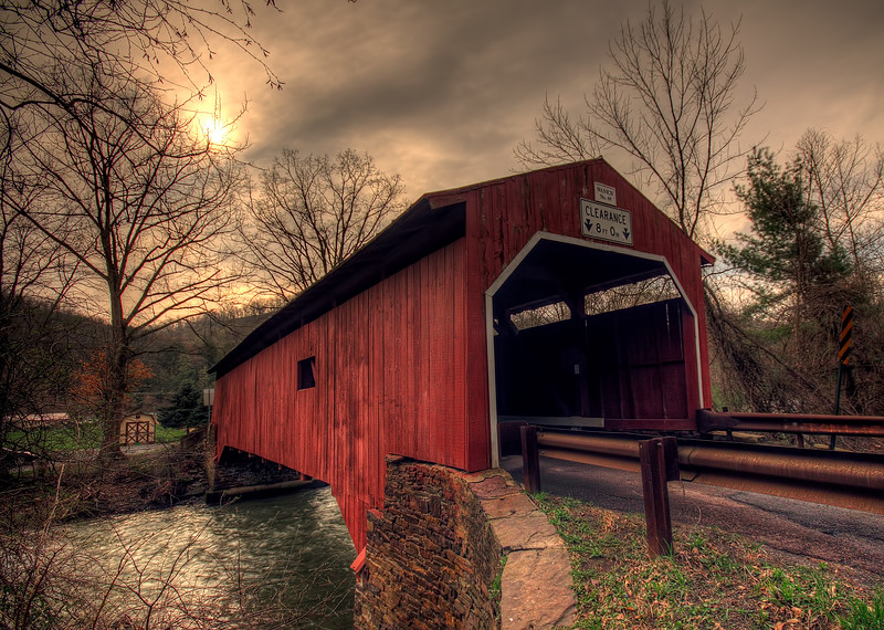 Wanich Covered Bridge - near Bloomsburg, Pa