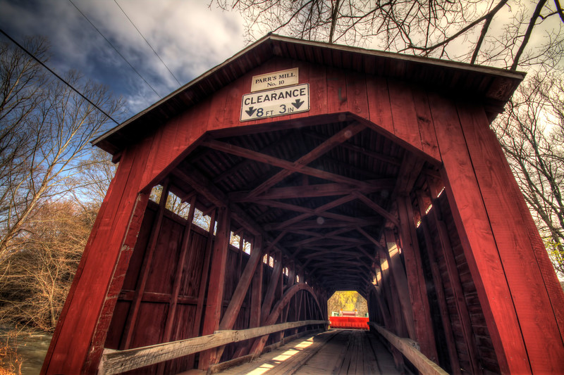 Parr's Mill Covered Bridge (now closed to traffic)