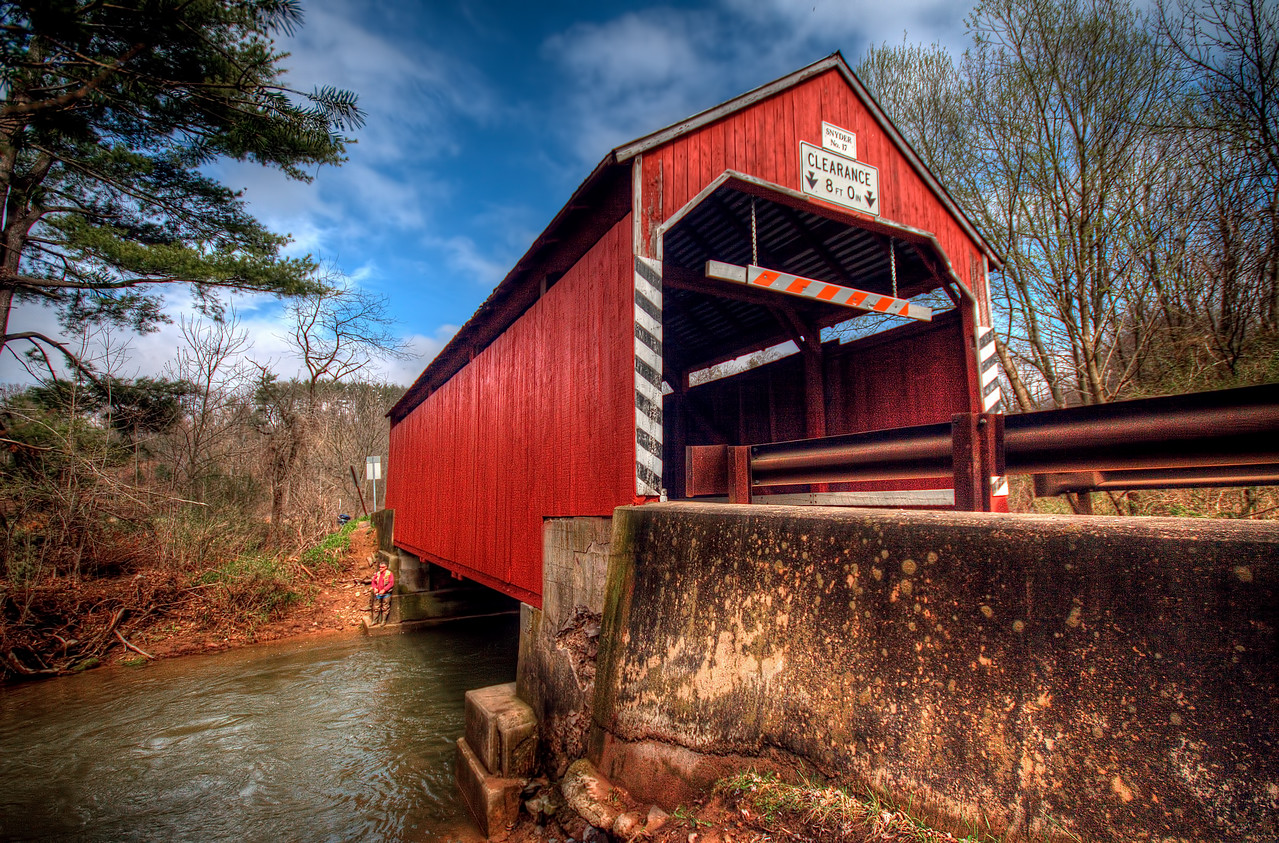 Snyder Covered Bridge - near Catawissa, Pa