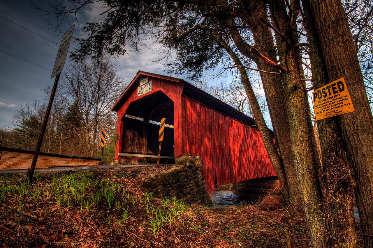 Krickbaum Covered Bridge - near Elysburg, Pa