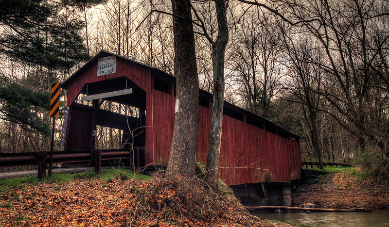 Esther Furnace Covered Bridge