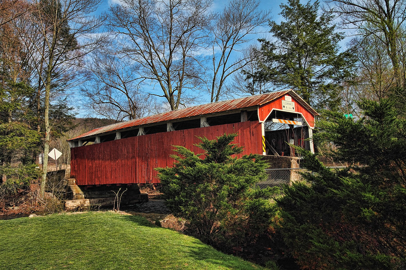 Richards Covered Bridge - near Elysburg, Pa