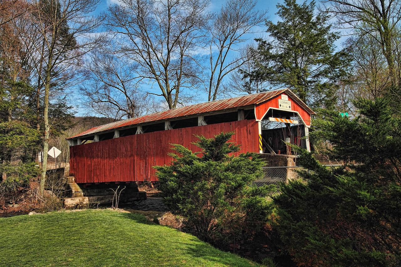 Richards Covered Bridge - near Elysburg, Pa