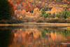 Autumn foliage reflections at New Germany State Park, Maryland
