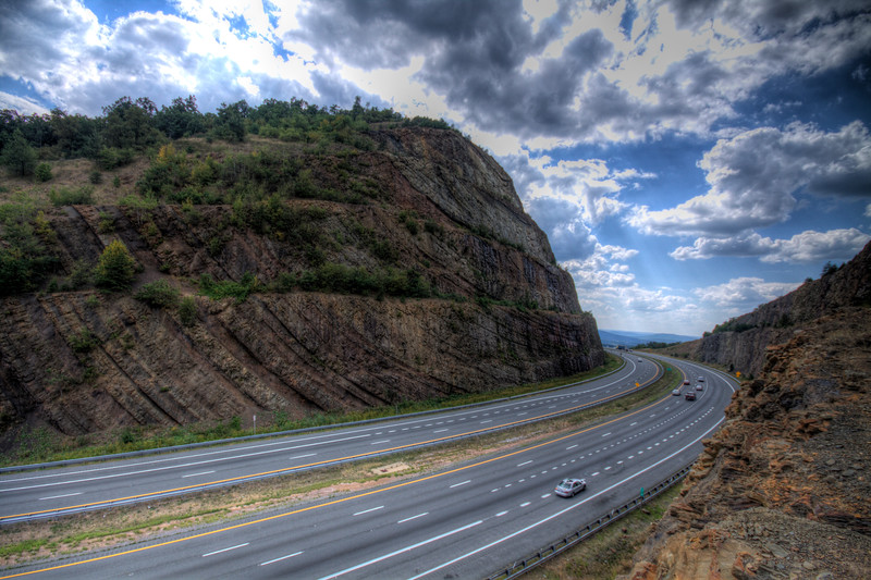Sideling Hill - Gateway to Western Maryland  (looking west)