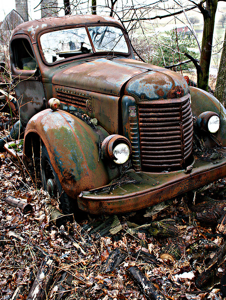 old truck in Western Maryland