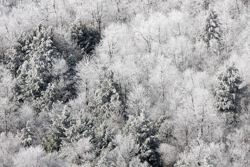 Western Maryland ice storm