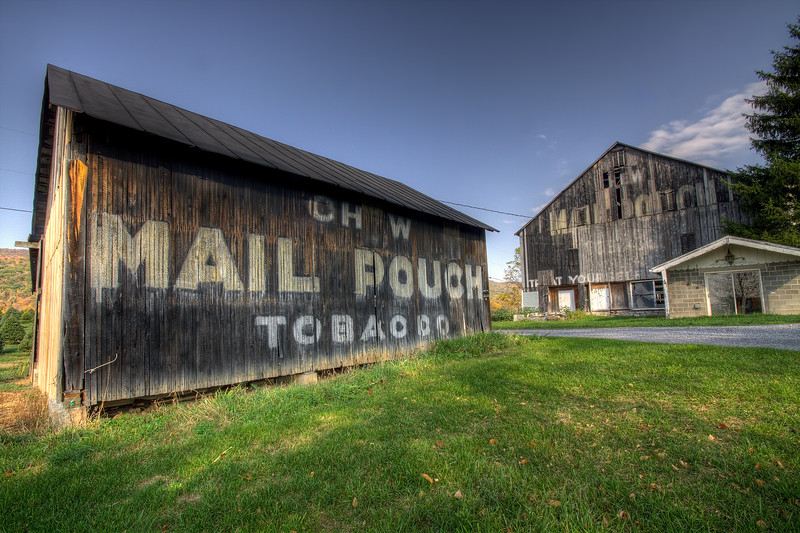 Mail Pouch Barn - Route 220 between Centerville & Bedford Pa