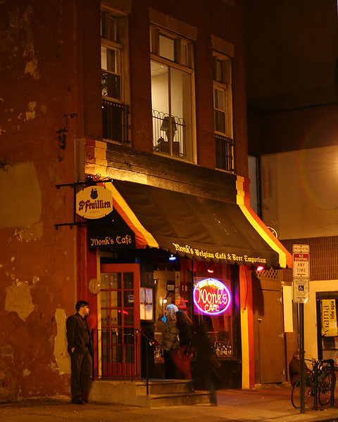 Monk's Cafe in Philadelphia, Pa