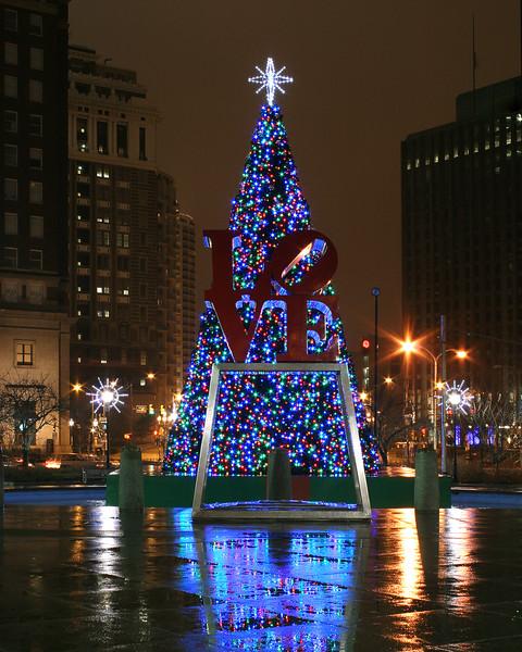 Christmas time in Philadelphia