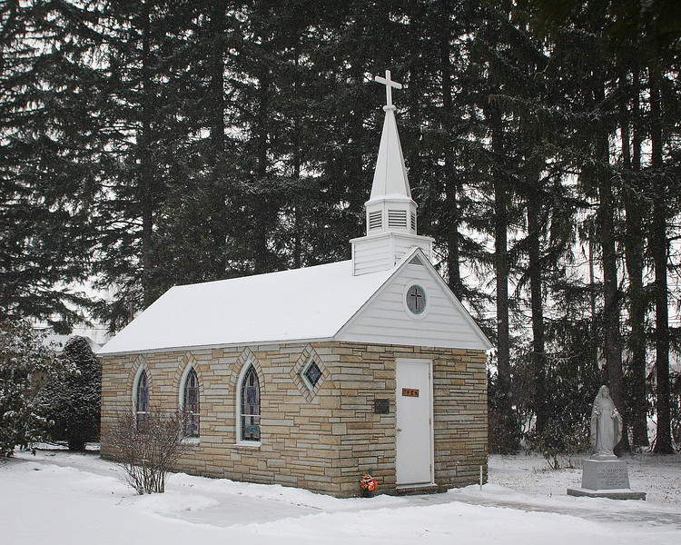 Smallest church in 48 states