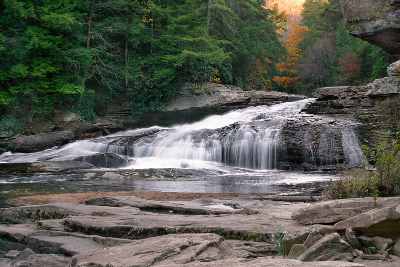 Swallow Falls at Swallow Falls State Park