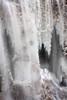 Large ice formation at Muddy Creek falls