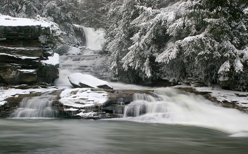 Muddy Creek Falls - March 2008