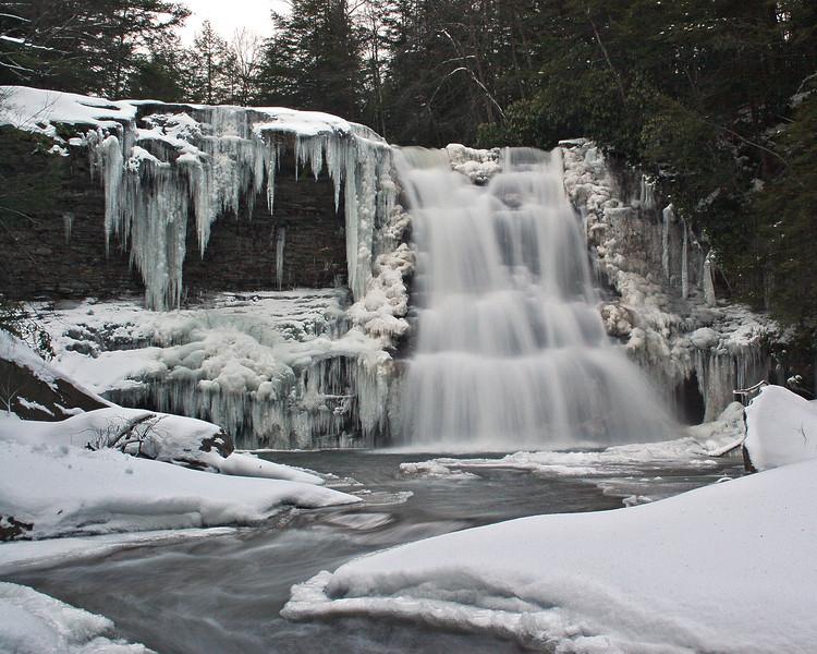 Muddy Creek Falls 2007
